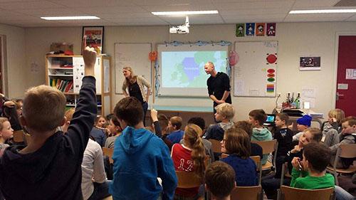Een In de Noordzee gastles voor de basisschool is een leerzame en inspirerende les voor de kinderen